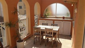 Apartment in upmarket central Moraira 150M from beach