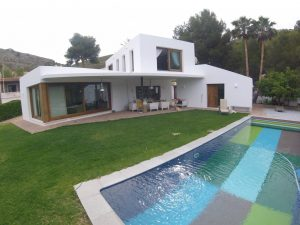 Recently built stylish home in Moraira