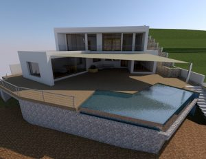 New build luxury villa near El Portet