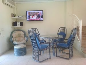 A two bedroom townhouse close to the beach