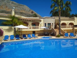 A large luxury villa on the Montgo side of Javea