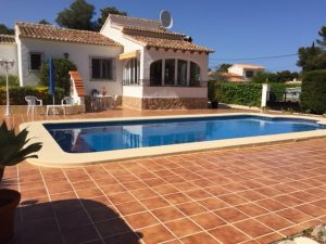 Three bedroom private villa with pool