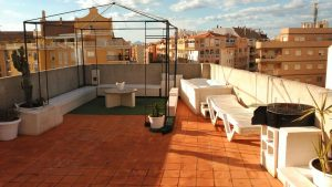 2 bedroom penthouse in la pedrera