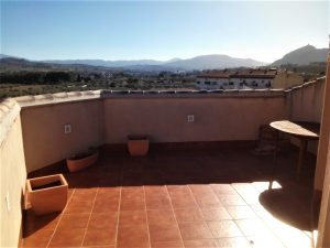 2 bedroom penthouse located in the center of the town