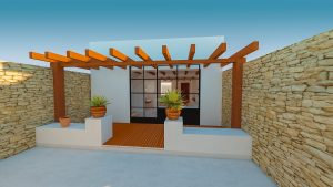 3 bedroom townhouse to refurbish in Orba
