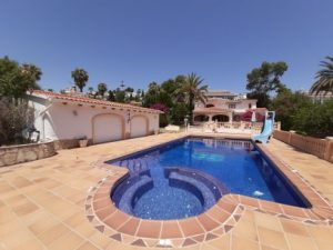 An outstanding 6 bedroom villa in El Portet